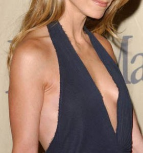 hot christine taylor cleavage